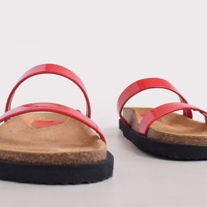 Stockie Classic – Patent Red