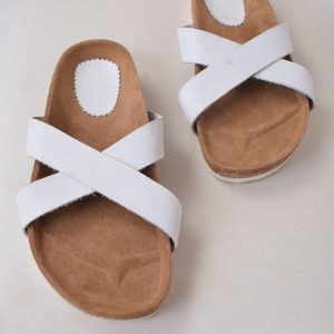 Stockie CrissCross – White